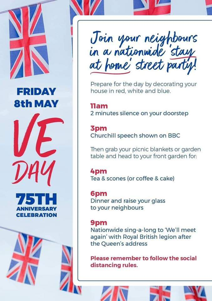 Nationwide stay at home street party