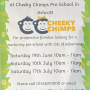 Cheeky Chimps Stay and Play Sessions 2021